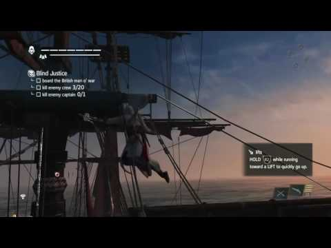 Assassin's Creed Black Flag IV  Navassa Naval Forts Naval Contract's Blind Justice