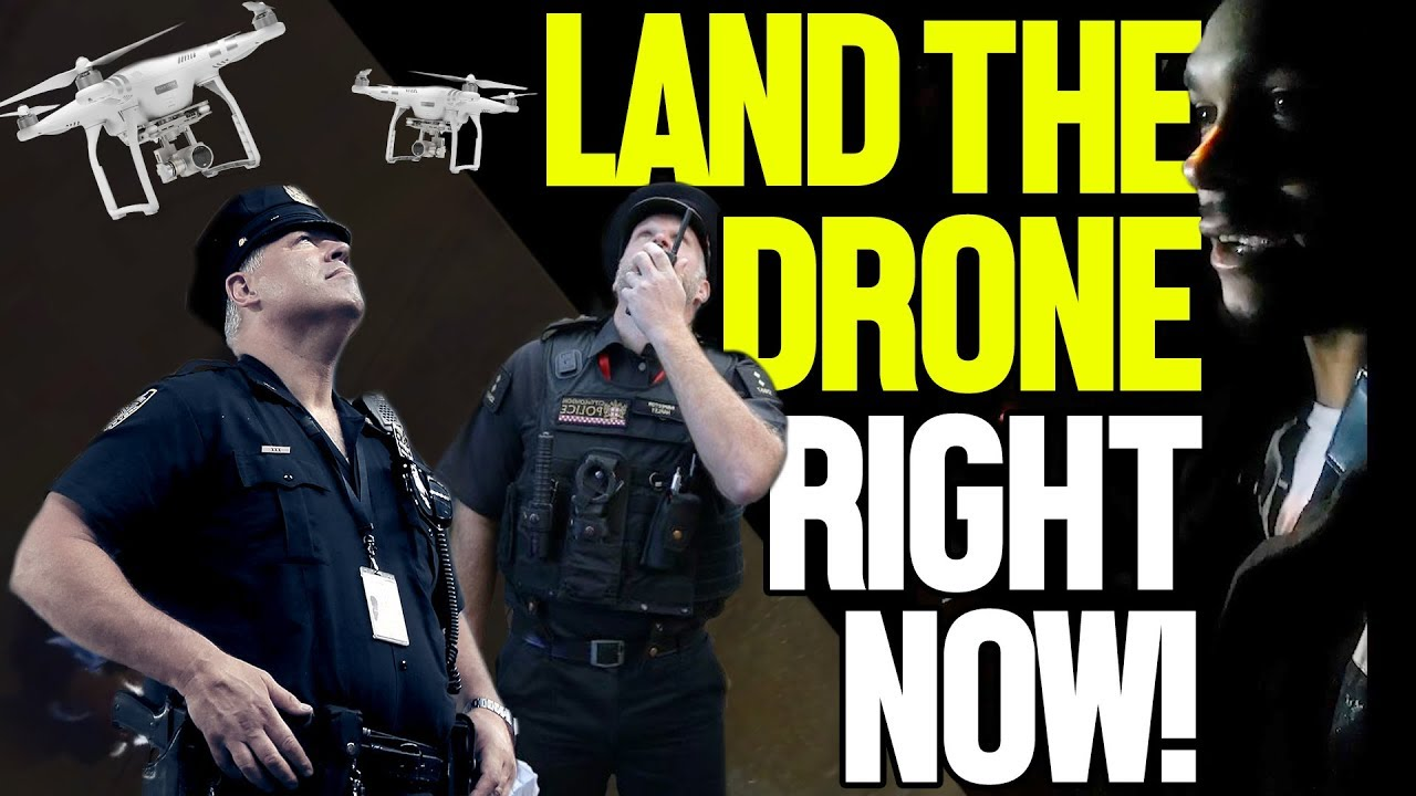 """I'M IN MY YARD!"" OFFICERS DETAIN DRONE PILOT"