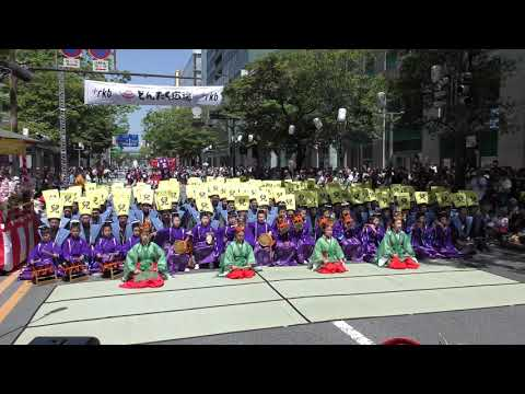 第58回 福岡市民の祭り 博多どんたく 港まつり 博多松ばやし 稚児東流れ稚児舞