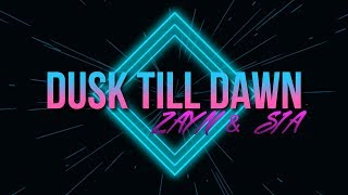 ZAYN - Dusk Till Dawn ft. Sia (Karaoke) (Official)