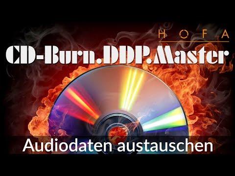Audiodaten austauschen in HOFA CD-Burn.DDP.Master