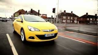 New Vauxhall Astra GTC review and road test 2013