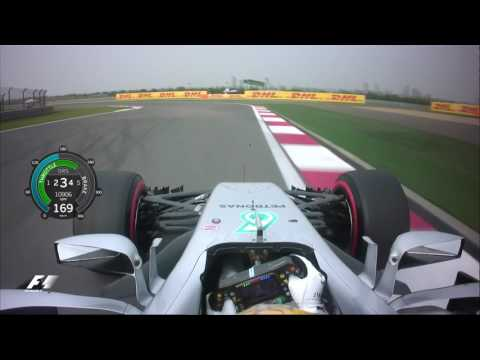 2017 Chinese Grand Prix | Lewis Hamilton Onboard Pole Lap