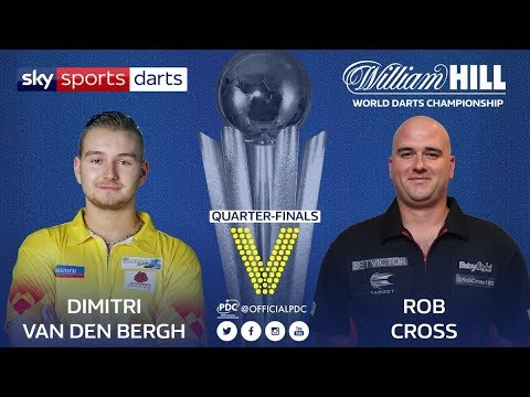 2018 World Darts Championship Quarter Final van den Bergh vs Cross