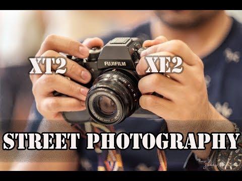 Fuji X-T2 and Fuji X-E2 - STREET PHOTOGRAPHY