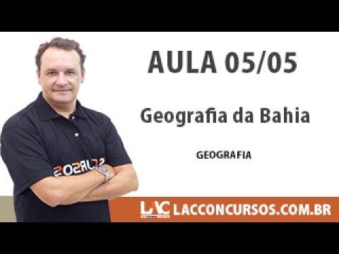 PM BA - Alex Mendes - Geografia da Bahia - 05/05
