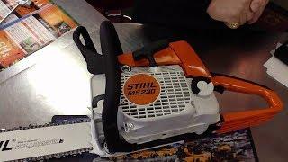 STIHL MS 230 ремонт