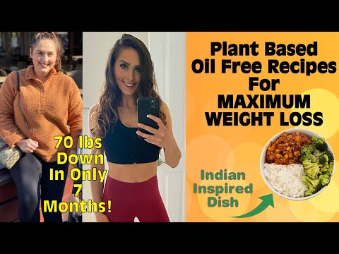What I Eat In A Day On A Plant Based Diet / Vegan Weight Loss Recipes / Starch Solution