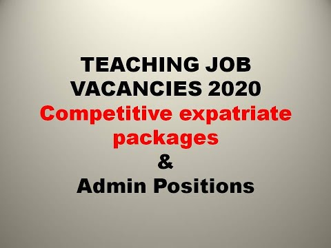 #Overcome  International School Teaching Job Malaysia  || How To Apply || Salary 2020