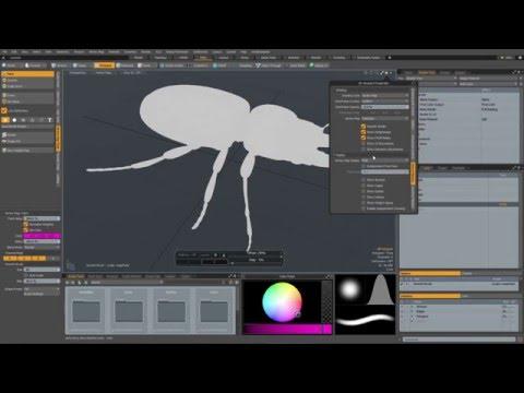 MODO 10 Quick Clip -- Vertex Paint Workflow