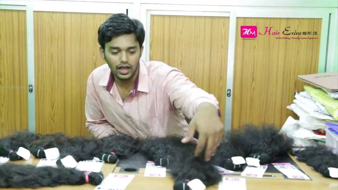 Virgin Remy India Human Hair Extension From Hair Exporter Supplier