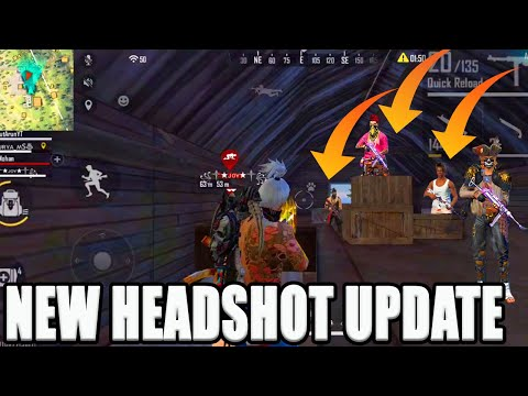 NEW HEADSHOT UPDATE [ THIS UPDATE BEST OR WORST]|| FREE FIRE TRICKS TAMIL|| RUN GAMING