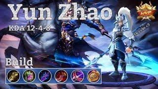 Video Mobile Legends: Yun Zhao MVP, high damage fighter build! download MP3, 3GP, MP4, WEBM, AVI, FLV November 2017