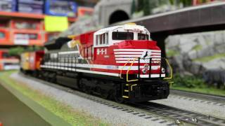 MTH O NS SD70ACe Imperial Diesel & Caboose Set With Proto 3.0