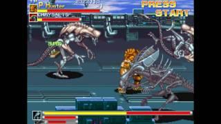 Aliens vs Predator Ending (Arcade) 1080p HD