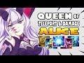 QUEEN OF TELEPORT & DAMAGE! [by ᴇʟᴜsɪᴠᴇ] ALICE BUILD & GAMEPLAY MOBILE LEGENDS