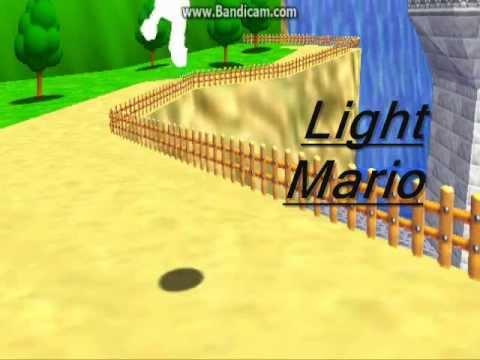 my super mario 64 color code showcase (codes and link to code generator in  description)