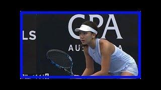 16岁美少女逆境下惊人爆发!中国网球终迎来超级天才