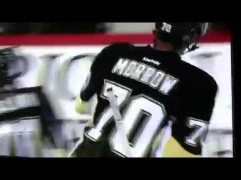 Joe Morrow's power play goal vs Wild