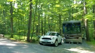 Little Bennett Regional Park Maryland camping loop D tour