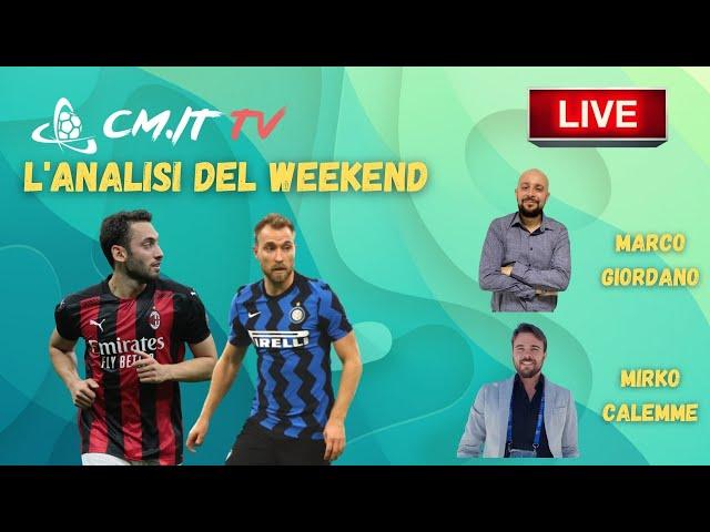 🔴 CMIT TV - Inter e Juventus corrono, il Milan rallenta | L'analisi del weekend!