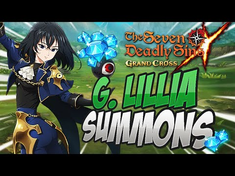 I PULLED HOW MANY?! Lillia Original Character Summons! Seven Deadly Sins Grand Cross