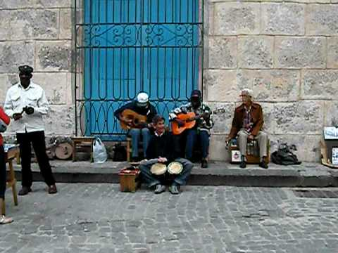 Cuban Street Musicians