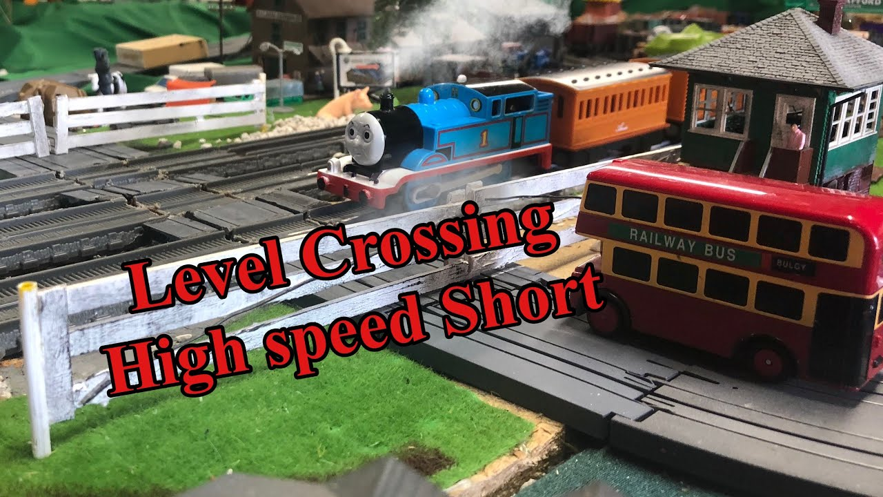 Level Crossing high speed run