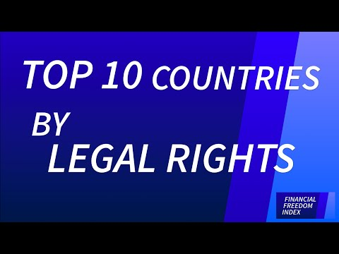 Top 10 Countries with the Strongest Legal Rights (2014/15) - FINANCIAL FREEDOM INDEX