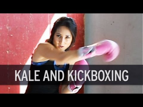 Fitness and Food Journal: Kickboxing Cardio Workout and Kale Chips Recipe
