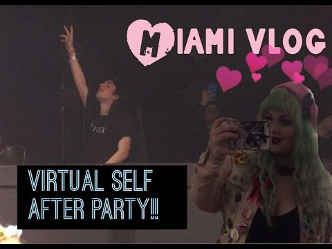 Miami Vlog | Virtual Self Miami Afterparty