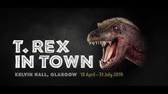 T.rex in Town, Kelvin Hall Glasgow