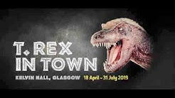 T.rex in Town, Kelvin Hall Glasgow