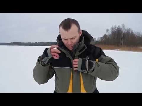 видео: Костюм для рыбалки, зимний norfin arctic и arctic red.