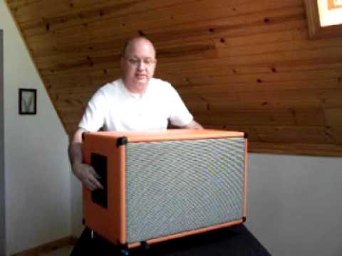 Delbert Walling Talks about his EarCandy Buzzbomb 2x12 guitar cab ...