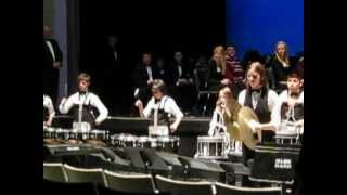 Moses Lake High School Percussion Band Performance with Conner Boss