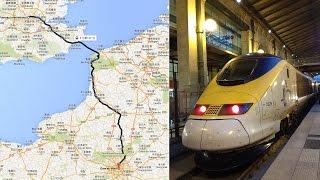 Video EuroStar Class 373 from St Pancras International to Gare du Nord download MP3, 3GP, MP4, WEBM, AVI, FLV Juli 2017