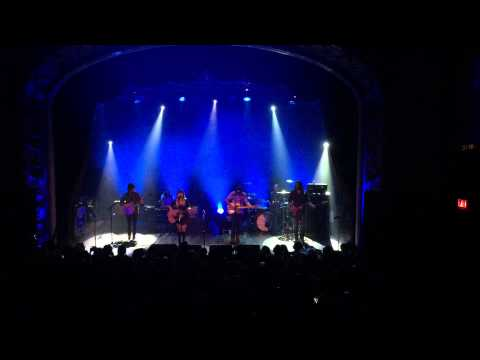 """Angus And Julia Stone Singing """"For You"""" At The Opera House In Toronto.  October 21,2014"""