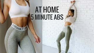 5 MINUTE AB ROUTINE + MASSIVE Workout Clothing Sale