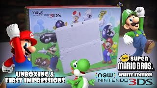 NEW NINTENDO 3DS SUPER MARIO WHITE EDITION UNBOXING! BLACK FRIDAY 2016 FAIL!