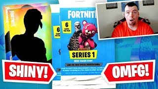 Fortnite Trading Card Pack Opening - 1st Ever Pack Opening