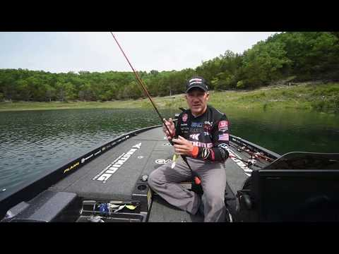 BASS FISHING PRO SHOWS HOW TO FISH SPINNERBAITS With KastKing Spinner Bait Fishing Rods