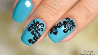 видео Объемные вензеля на ногтях: 5 способов