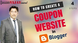 How to Easily Create a Coupon Site in Blogger/Blogspot?