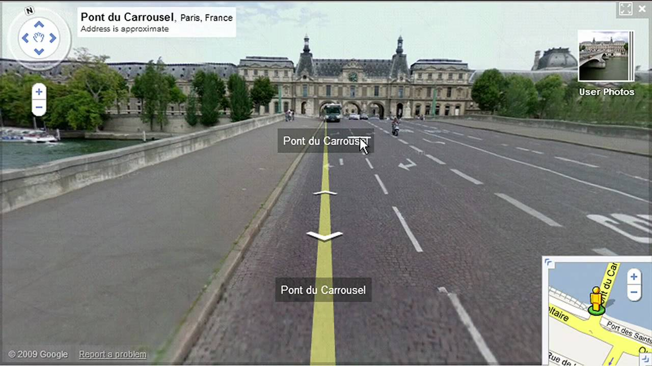 Smart Navigation for Street View - YouTube