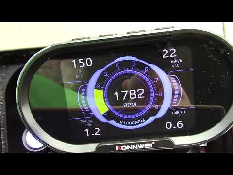 KONNWEI KW206 OBDII Car HUD Heads Up Display Review