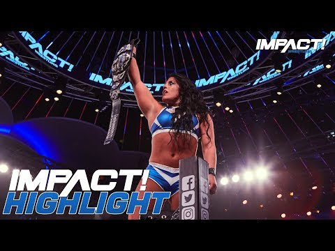 Tessa Blanchard Wins the Knockouts Championship! | IMPACT