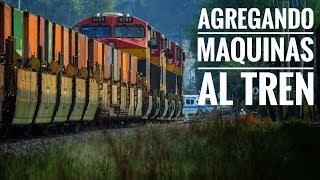 KCSM Morelia Agregando maquinas al tren GE Power