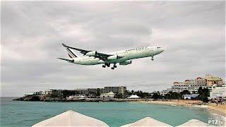 SXM - AF498 Arrival 12/31/2016 and AF499 Departure 01/01/2017