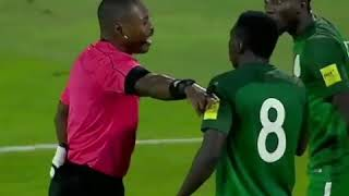 The penalty awarded Algeria against Nigeria